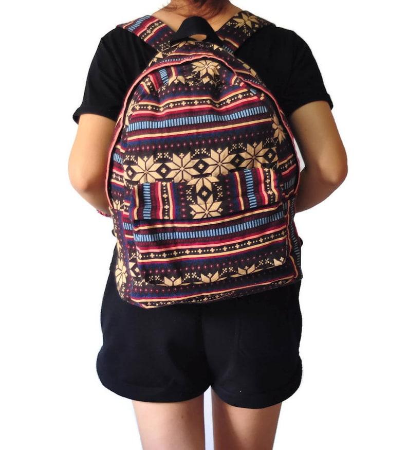 Cotton bag Big bag Hippie bag Hobo bag Backpack Diaper Bag Student Travel College Teen Boho Gypsy Woven Bag Tote bag  Shoulder bag