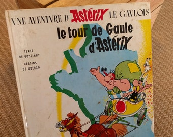 Le Tour de Gaule d' Asterix (Asterix and the Banquet) Issue #5 Goscinny Uderzo Published Dargaud 1977 Hardcover