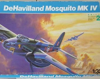 Revell Hobby 1/32 Scale Kit DeHavilland Mosquito MK IV-Scale Model-Model Airplane-Model Airplane Kit-Model-Kits-Model Kits-Plastic Model Kit