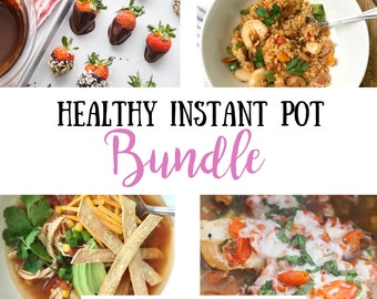 Confessions of a Fit Foodie: Healthy Instant Pot eBook Bundle