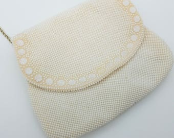 Vintage Doubled Sized Beaded Evening Bag