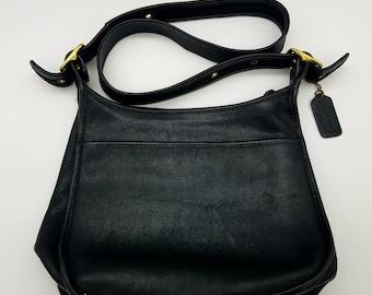 070e7078ee Authentic Vintage Black Coach Shoulder Bag