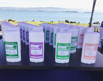All Natural Deodorant, Handmade with Certified Organic ingredients!