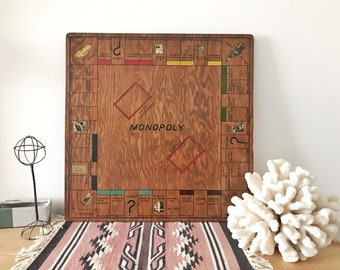 Wooden Game Board Etsy
