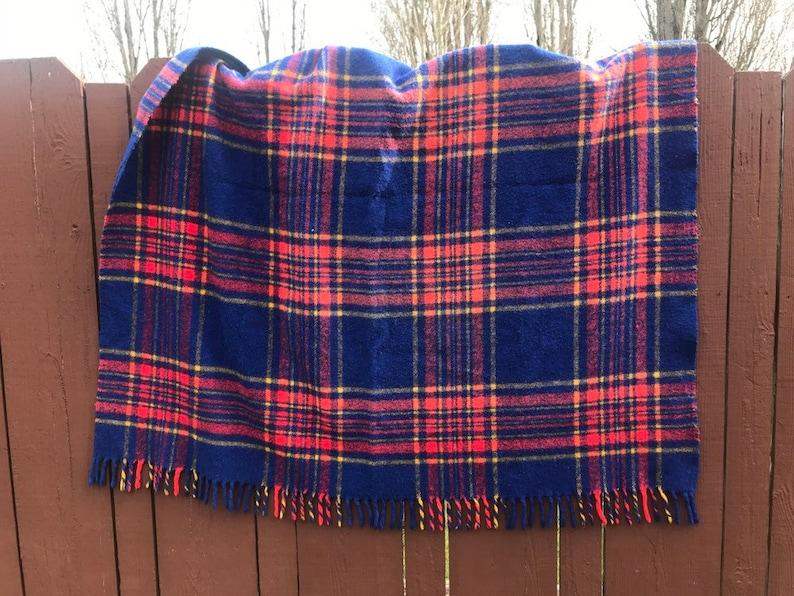 Tartan Wool Blanket