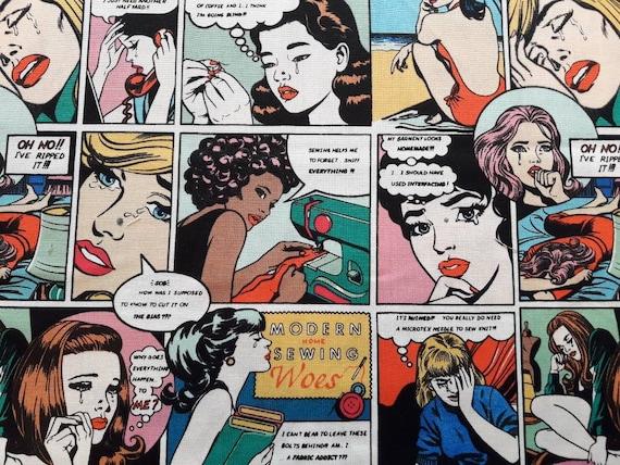 Comic strip art