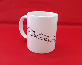 Nyan Cat Mug Gift Idea Cool Unique Meme Reddit Birthday Christmas Coffee Cup