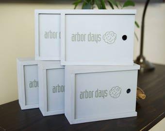 Bulk of 5 - 4x6 Custom Handmade Photo Box for 4x6 Prints