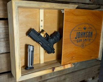 Hidden Gun Storage Box With Free Shipping