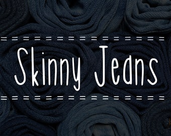 Skinny Jeans Handwritten Font, instant download, fun for Cricut, Sillouette or Glowforge. Commercial License.
