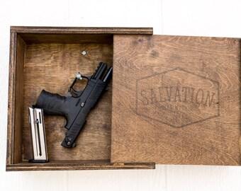 Hidden Gun Storage + Free Shipping