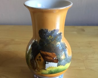 1930's Noritake Hand Painted Vase - Vintage Collectable - Made in Japan