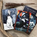 White Hare Wisdom - Oracle card Deck by Jacqui Lovesey - tarot type cards, wellbeing, mindfulness, witch, pagan
