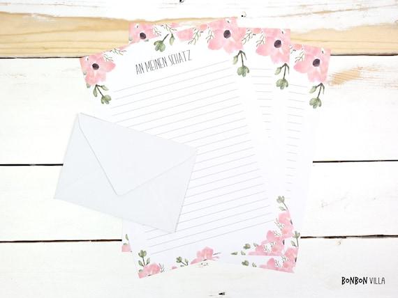 briefpapier liebesbrief