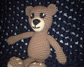 little teddy bear crochet