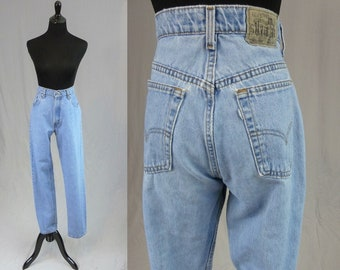 SilverTab Loose Vintage 1990s 90s Levi/'s 664 Jeans 31 waist Blue Denim Pants 31x32-32 inseam