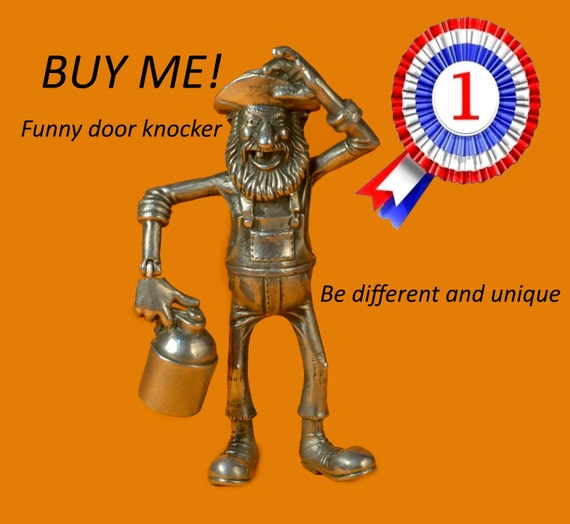 sc 1 st  Etsy : funny door knockers - pezcame.com