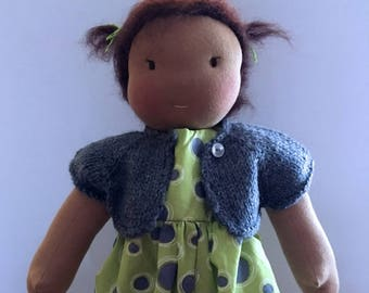 ON SALE Waldorf Doll. 15inch Pansy