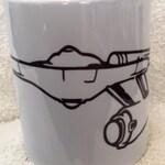 Star Trek  USS Enterprise Collectible Mug