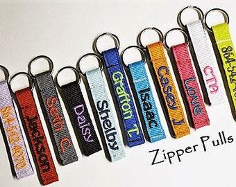 Zipper Charms