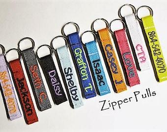 Zipper Pull Etsy