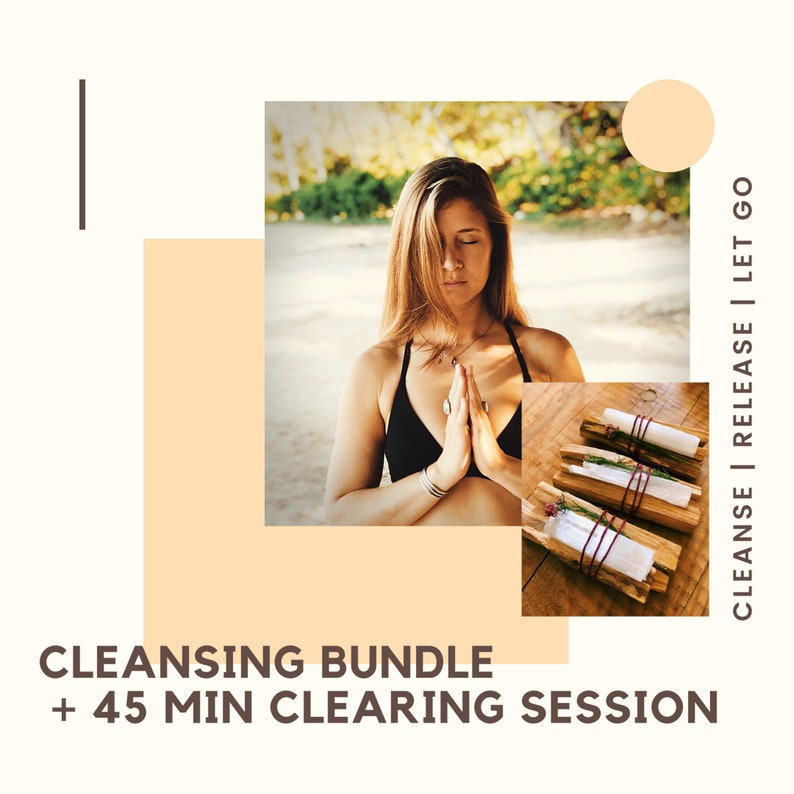 Cleansing Bundle  Guided Clearing Session 45 min image 0