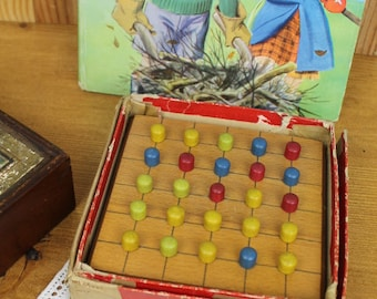 Vintage Chad Valley Peg Board Game/Vintage Game/Children's Game/ SALE