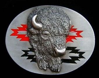 Southwestern Buffalo or Bison Belt Buckle