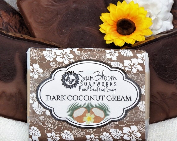 Dark Coconut Cream Soap