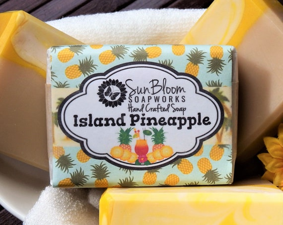 Island Pineapple Soap