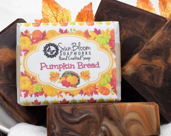 Pumpkin Bread Soap // Pumpkin Spice Soap
