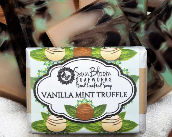 Vanilla Mint Truffle Soap