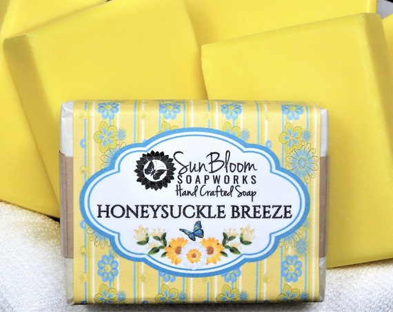 Honeysuckle Breeze Soap