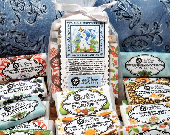 Winter Soap Sampler // Guest Soaps