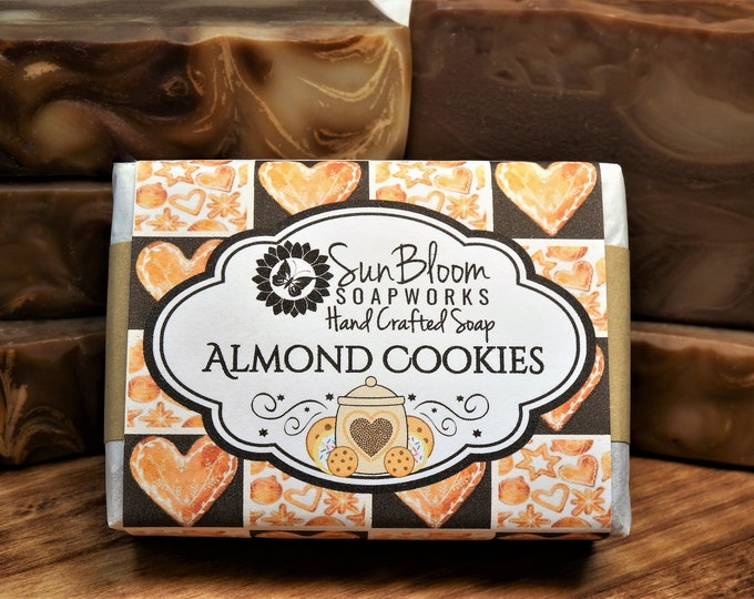 Almond Cookies Soap
