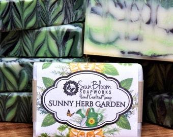 Sunny Herb Garden Soap