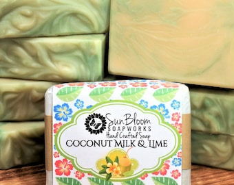 Coconut Milk & Lime Soap
