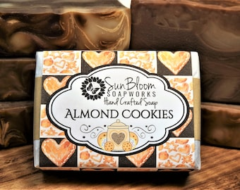 Almond Cookies Soap