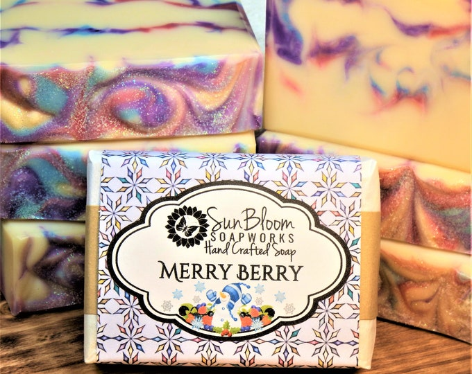 Merry Berry Soap