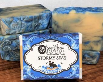 Stormy Seas Soap