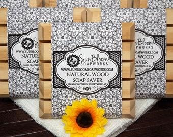 Natural Wood Soap Saver