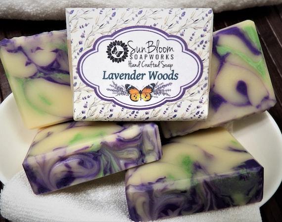 Lavender Woods Soap