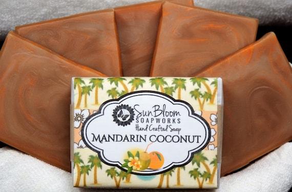 Mandarin Coconut Soap