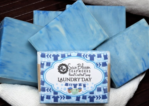 Laundry Day // Clean Cotton Soap