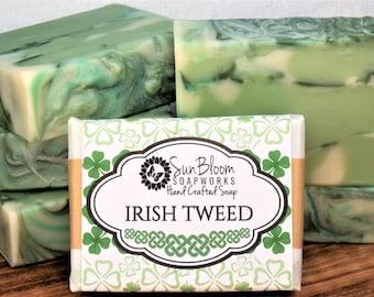 Irish Tweed Soap