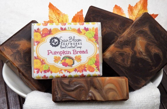 Pumpkin Bread Soap // Pumpkin Spice Soap