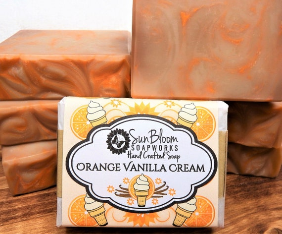 Orange Vanilla Cream Soap