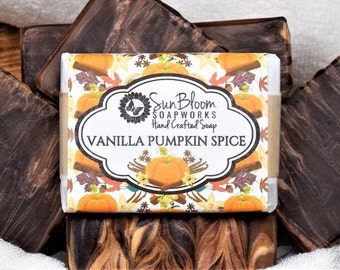 Vanilla Pumpkin Spice Soap