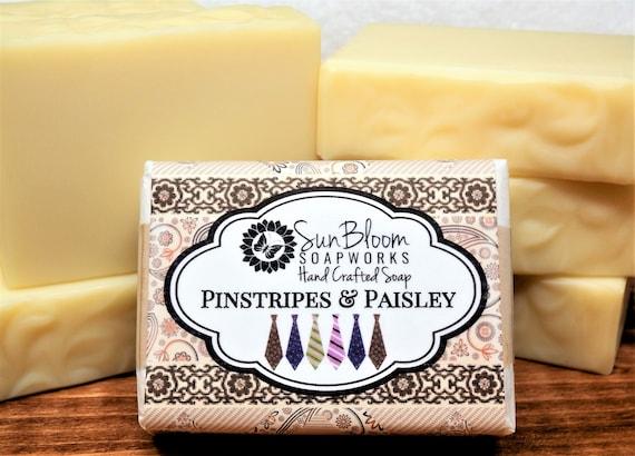 Pinstripes & Paisley Soap