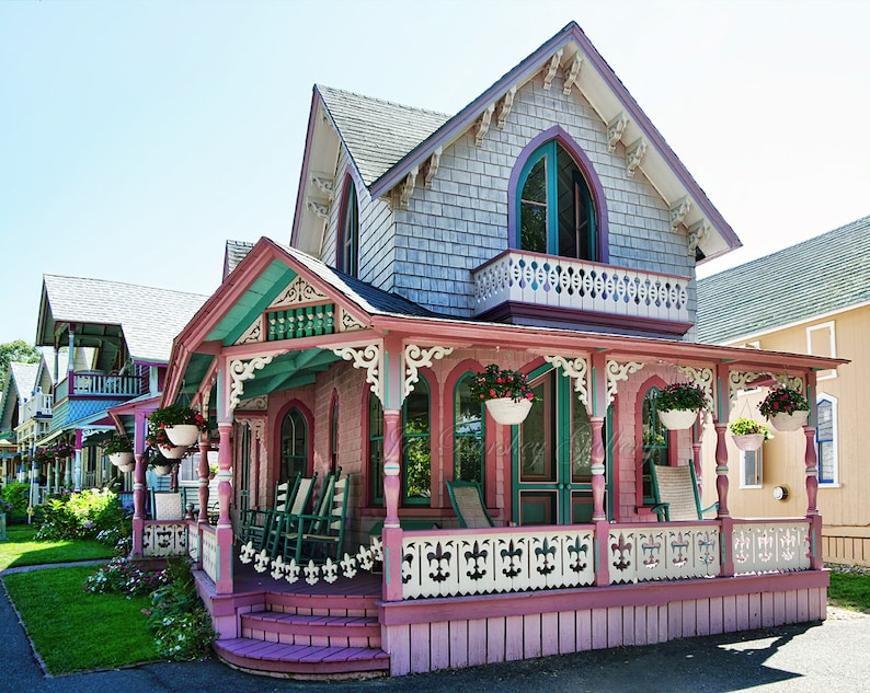 Oak Bluffs Gingerbread House Martha's Vineyard Victorian image 0